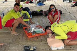 El servicio de socorrismo en las playas de Sant Josep empieza el lunes y se extenderá hasta octubre