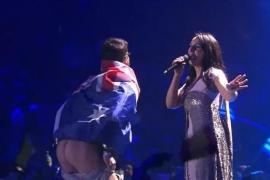 El espontáneo que enseñó el culo en Eurovisión podría enfrentarse a cinco años de cárcel