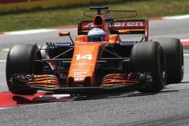 Alonso, «contento» por acabar su primera carrera del año «sin problemas mayores»