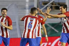 El Atlético empata ante el Betis y asegura el tercer puesto en la clasificación