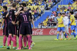 El Barcelona mantiene sus opciones con 'hat-trick' de Neymar