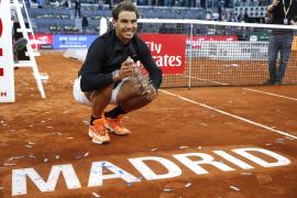 Nadal, imparable, logra su quinto título en Madrid