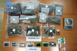 Desarticulado un punto negro de venta de droga en Ibiza