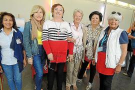 Rastrillo solidario del Club Elsa en el Palma Arena