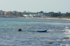 Detenidos 12 inmigrantes irregulares llegados al sur de Mallorca en dos pateras