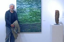 Daniel Marí Planells expone obras «surgidas de lo más profundo de su ser»