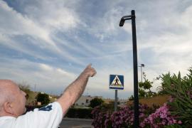 El barrio de Can Raspalls lleva una semana sin alumbrado público