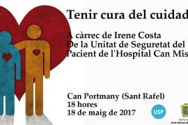 Can Portmany acoge un taller para aprender a cuidar al cuidador