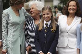 La Infanta Sofía celebra la Primera Comunión con sus compañeros de clase