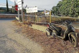 Herido grave un motorista de 25 años golpeado por un camión en Sant Jordi