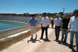 La balsa de regadío de Formentera volverá a funcionar tras permanecer cerrada desde 2009