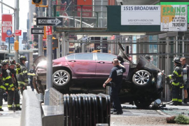 Muere una joven y más de una decena de personas resultan heridas por un atropello en Times Square