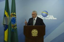 El presidente de Brasil descarta dimitir tras la decisión del Supremo de investigarle por corrupción