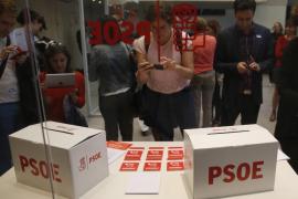 Unos 2.600 militantes socialistas están llamados a votar en Baleares en las primarias del domingo