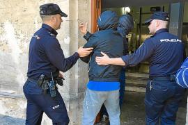 El número de delitos aumenta un 6,3% en Mallorca en los tres primeros meses de 2017