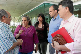 Guanyem acusa al Consell de «romper» el derecho a la huelga en Cas Serres