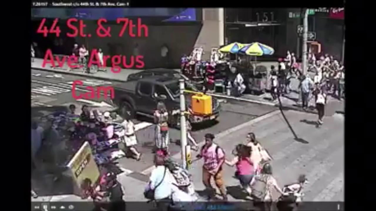 Sale a la luz un impactante vídeo del atropello mortal en Times Square