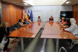 Acuerdo para establecer servicios mínimos del 25% en residencias de Ibiza