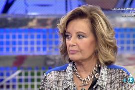 El ictus sufrido por María Teresa Campos sólo le afecta a la visión