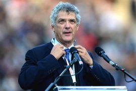 Ángel María Villar, reelegido presidente de la Real Federación Española de Fútbol