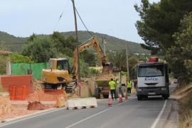 Santa Eulària inicia los trabajos de mejora en los barrios de Can Ramon y sa Font