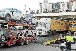 La amenaza de los estibadores ya ha afectado a la economía de Balears