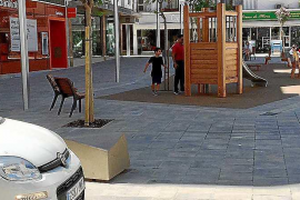 El PSOE cuestiona la seguridad de la plaza del Cañón de Santa Eulària