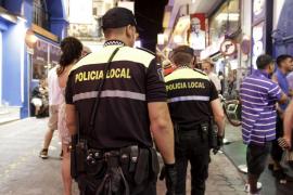 Detenido un hombre en Sant Antoni por atentado contra la autoridad