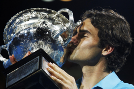 Federer hace llorar a Murray