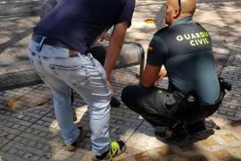 Herido tras un fatal tropiezo en Isidor Macabich