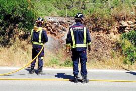 Sobresalto por dos incendios declarados en puntos de Sant Llorenç y Roca Llisa