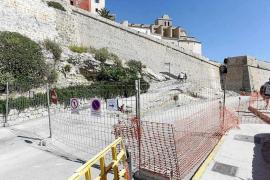 Las obras en el aparcamiento de es Soto se retoman tras pararse por unos hallazgos
