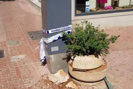 Herido grave un policía local de Santa Eulària en un aparatoso atropello con otra herida