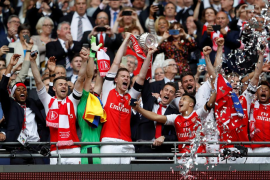 El Arsenal sorprende al Chelsea y conquista la FA Cup
