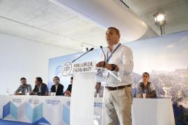 Jeroni Salom, reelegido presidente del PP de Mallorca con el 98 % de votos