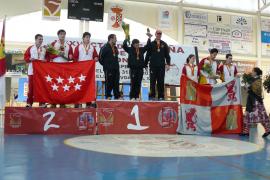 Balears manda en arco recurvo por equipos