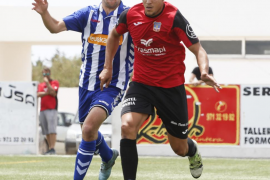El Formentera llega al descanso en Ibaia con cero a cero en el marcador ante el Alavés B