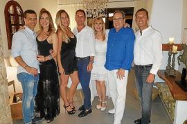 Alberto Serra celebra su 40 cumpleaños rodeado de amigos