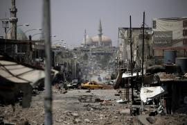 Los civiles atrapados en Mosul carecen de alimentos, agua y medicinas