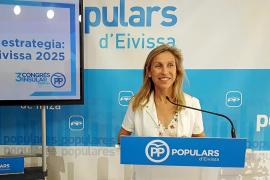 El PP defiende que es el «único partido» que puede resolver los problemas de Ibiza frente a las políticas «partidistas» de la izquierda