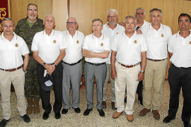 Asociación de Infantes en la base Jaime II