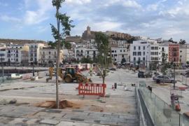 La APB abre hoy al público la plaza de es Martell y el muelle de la Marina del puerto de Ibiza