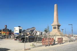 Es Martell y el muelle de la Marina del puerto de Vila se abren hoy al público