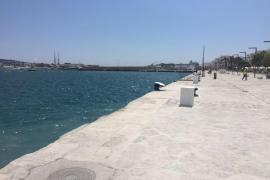 El puerto de Ibiza se abre al público tras las obras del invierno