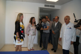 El hospital de Can Misses ya dispone de ocho habitaciones para personal sanitario
