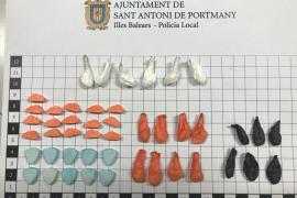 Detenido en Sant Antoni por un presunto delito de tráfico de drogas