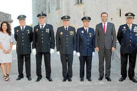 Diada de la Policía Local en el Castell de Bellver