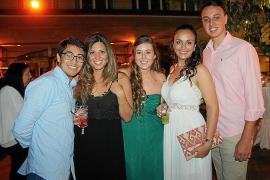 Fiesta de graduación en la Escola d'Hoteleria