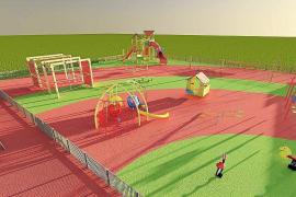 El nuevo parque infantil de Can Misses contará con un diseño «evolutivo»
