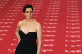 Spanish actress Laia Marull poses as she arrives for the Spanish Film Academy's Goya Awards ceremony at Madrid's Royal Theatre